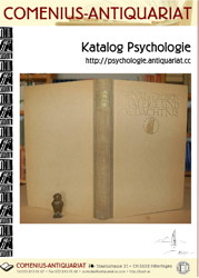 Antiquariatskatalog Psychologie